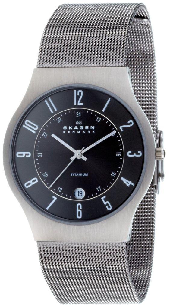 Skagen Men's 233XLTTM Titanium Watch
