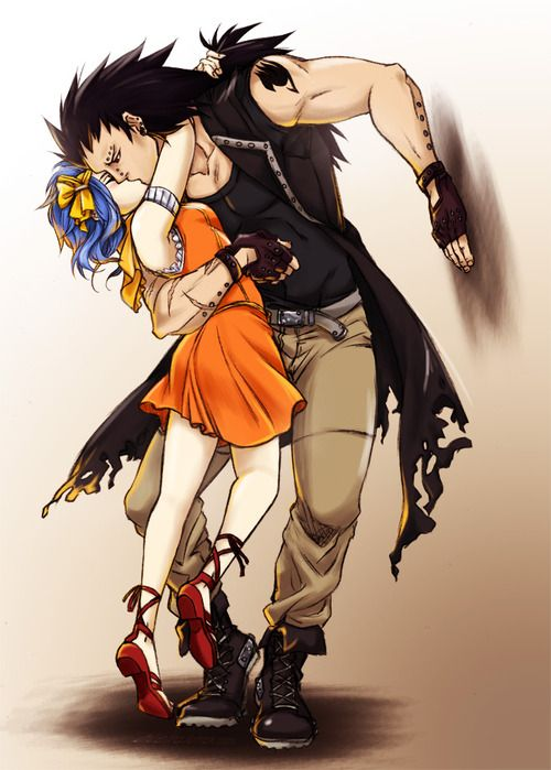 Gajeel Redfox & Levy McGarden(GaLe) - Fairy Tail Anime ...