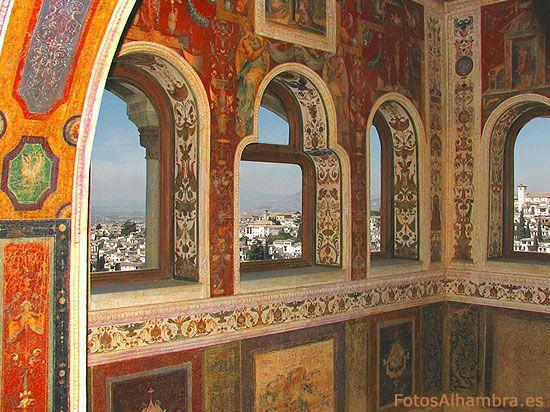 Peinador de la Reina en la Alhambra