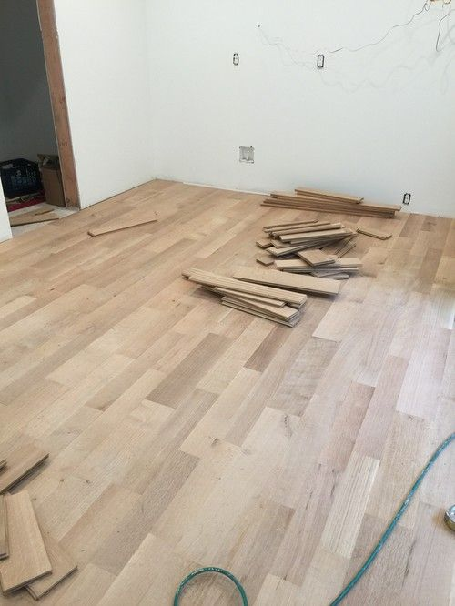 White Oak Floors Natural Finish