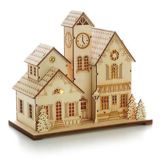 hallmark wooden christmas ornaments
