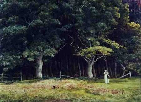 Sir Edward John Poynter - The Wooded Landscape