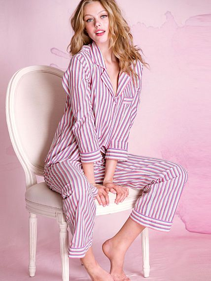 The Cotton Mayfair Pajama - Victoria's Secret