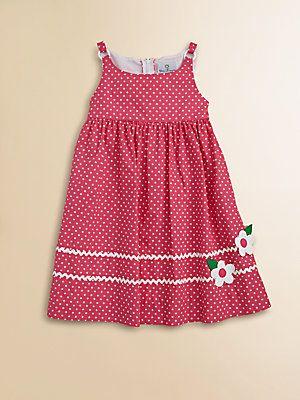 Florence Eiseman Toddler's Little Girl's Polka Dot Dress
