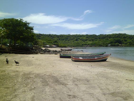 Isla Sácate grande, Amapala, Valle.