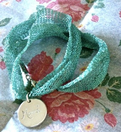 Medalla de Plata Grabada hecha a mano