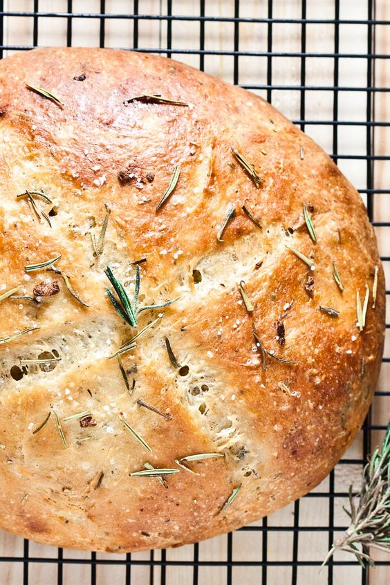 Rosemary Garlic Bread Recipe