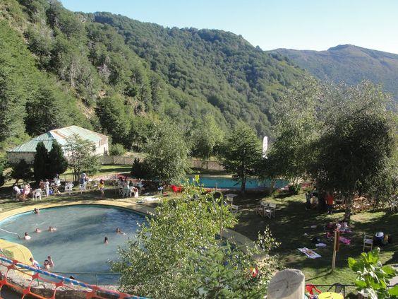 Termas de Chillán piscinas termales de Azufre y Hierro