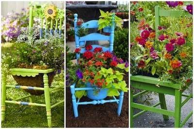 20 idee fai da te per il giardino foto garden