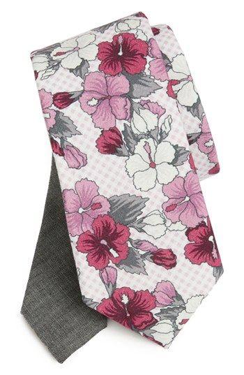 EDIT by The Tie Bar Floral Cotton Tie (Nordstrom Exclusive) | Nordstrom