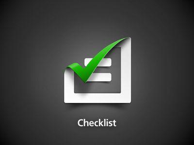 Designspiration — Dribbble - Checklist by Jimmy Goedhart