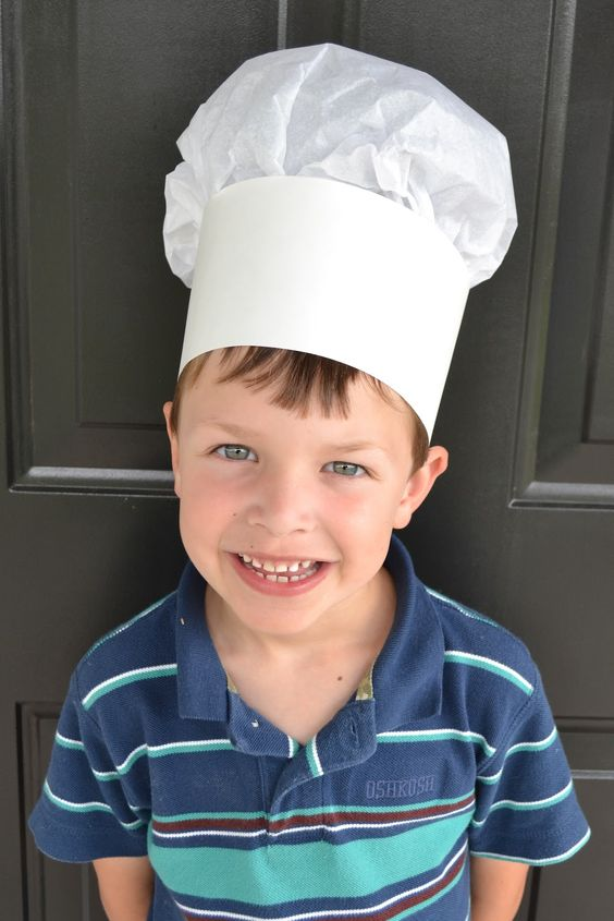 East Coast Mommy: Cooking with Kids {Chef Hats}