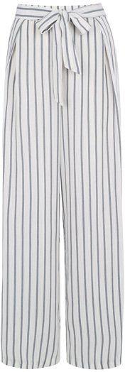 Pin for Later: Diesen Herbst-Trend könnt ihr ab sofort tragen  Oasis gestreifte Hose mit weitem Bein (ursprünglich 47 €, jetzt 25 €)