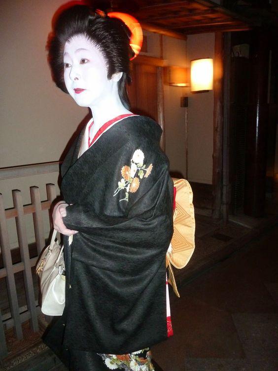 Geisha à Pontocho, Kyoto