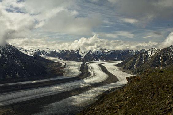 redwoodcollective:  Kaskawulsh Glacier (by artandmath)