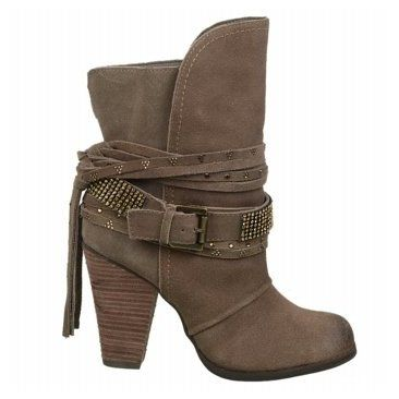 Naughty Monkey Santa Anna Boot Taupe Suede