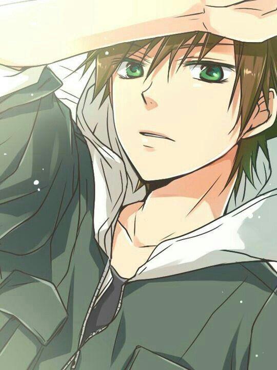 Anime boy, brown hair, green eyes; Anime Guys Please tell ...
