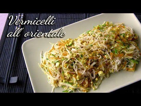 Un viandante in cucina: Spaghetti di riso all'orientale (vermicelli di ris...