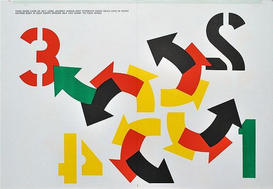 ROBERT INDIANA - Color lithograph - by Stanford Auctioneers
