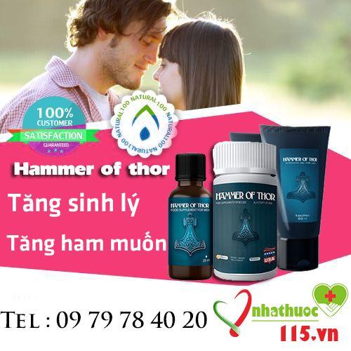 Bí quyết tăng sinh lý phái mạnh với Hammer of thor ấn độ 33e3b4ec3a513fbe6a44247f45289380