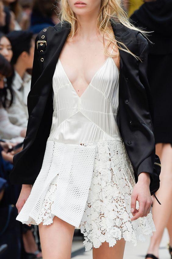 www.tranloev.com #tranloev #lace #satin #dress #white