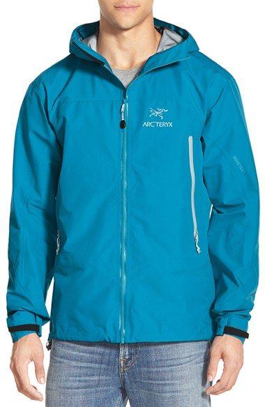 Arc'teryx 'Zeta' Trim Fit Waterproof Zip Jacket