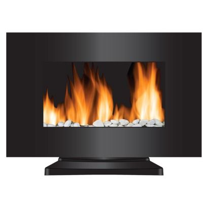 2-in-1 LED Color Changing Flame Fireplace