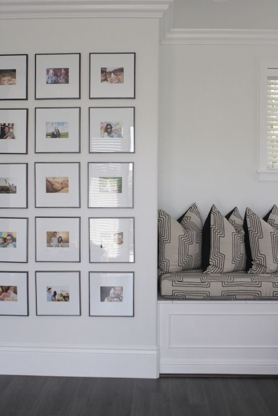 Modern gallery wall owens and davis