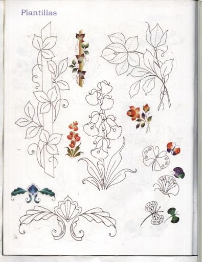 Рисуем цветы - Oksana Volkova - Picasa Albums Web