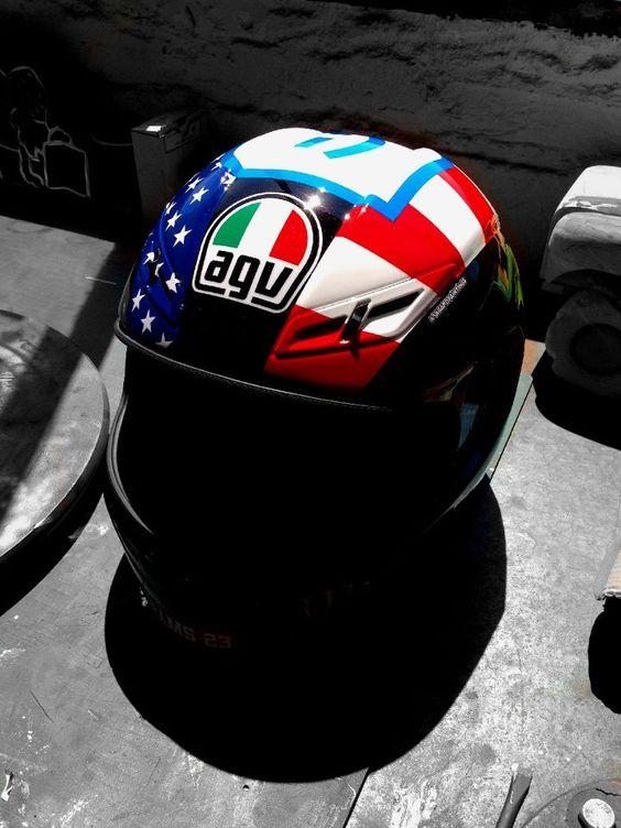 Agv GP-Tech P.Espargarò Indianapolis 2012 by MagaroPaintings