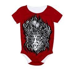 tumblin dice All Over Print Bodysuit > Tumblin' Dice > Red Queen's Elf