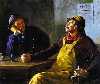 Fishermen in Conversation - Abbott Fuller Graves - The Athenaeum