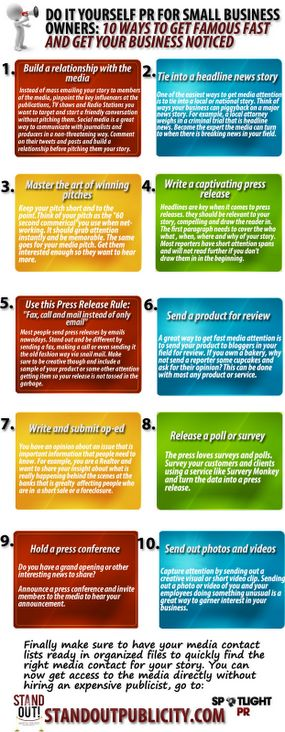 Infographic Ideas infographic yourself : Do it Yourself PR #Infographic By @Christina Childress Childress ...