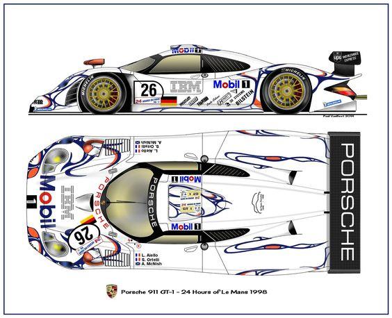 Porsche 911 GT-1 Le Mans 1998