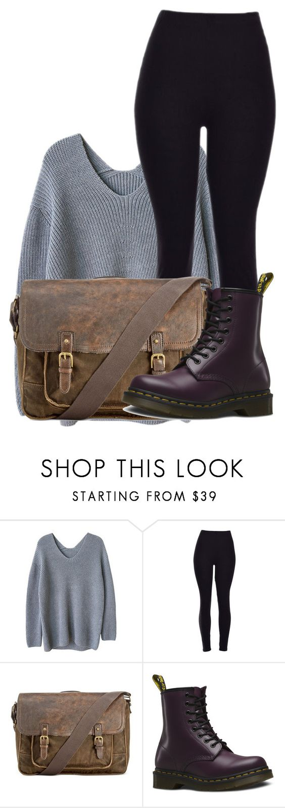 """""""100 Day Challenge: Day 32: Going to a Library"""" by hagel ❤ liked on Polyvore featuring Patricia Nash, Dr. Martens, women's clothing, women's fashion, women, female, woman, misses and juniors"""