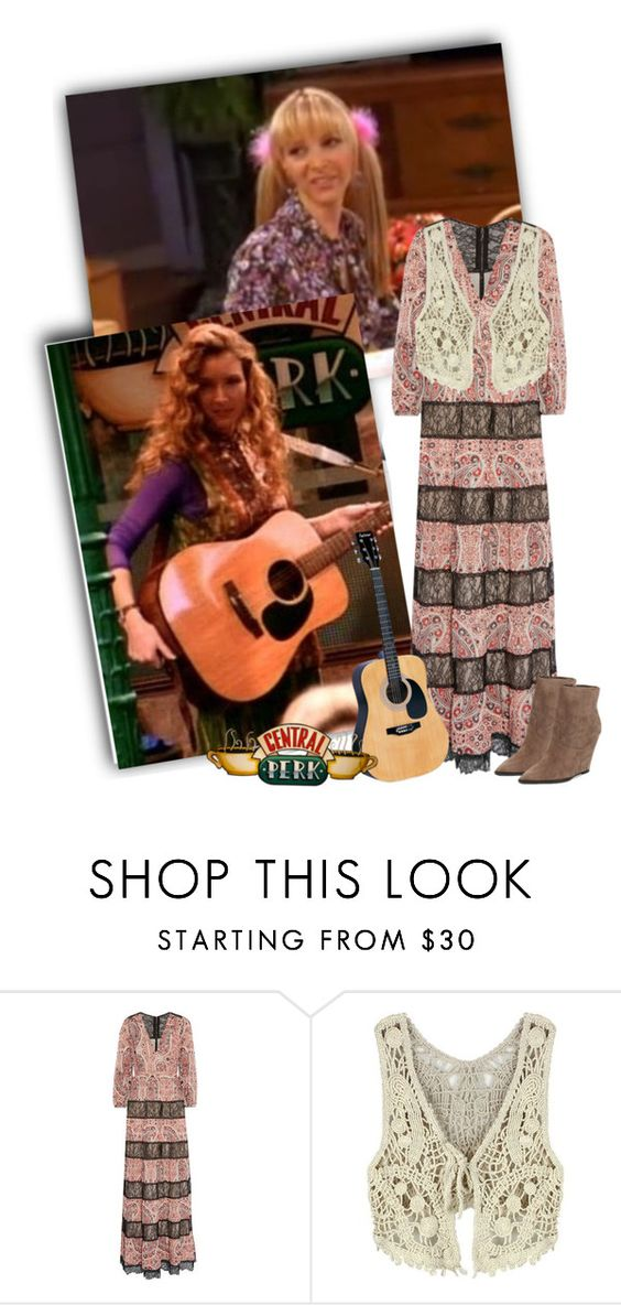 """Friends Pheobe"" by priscilla12 ❤ liked on Polyvore featuring Rachel, Alice + Olivia, Ash, friends and TV"