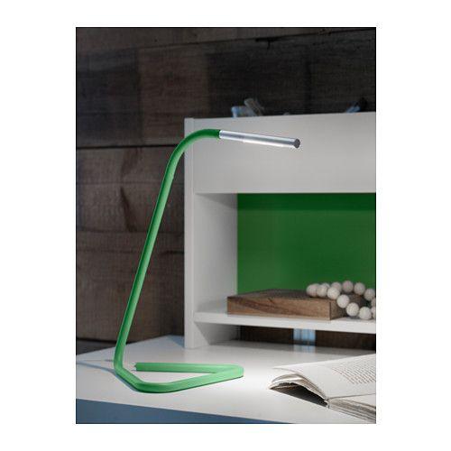 HÅRTE Arbeitsleuchte, LED - grün/silberfarben - IKEA