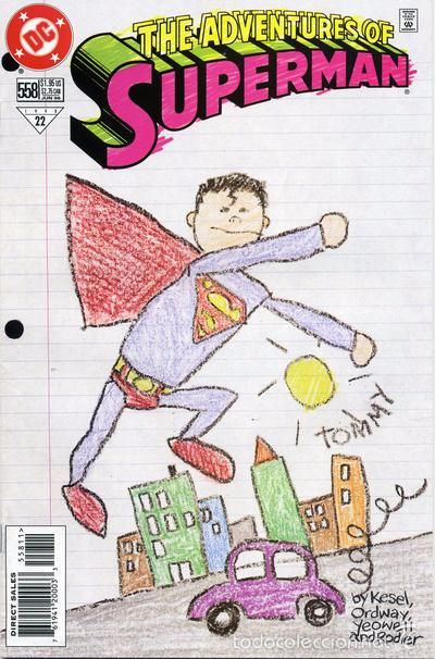 ADVENTURES OF SUPERMAN #558, DC COMICS, 1.998, USA.