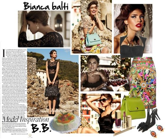 """""""smell of my sicily: bianca balti"""" by esterp on Polyvore"""