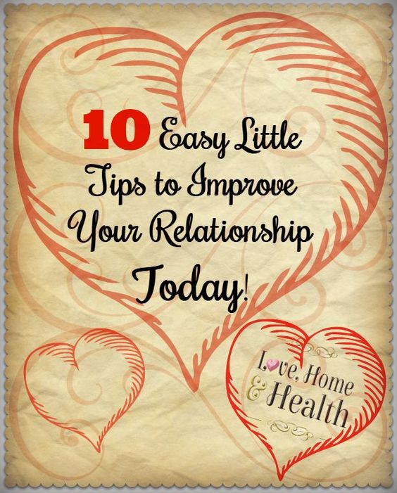 Often one person can improve a relationship! Because all you have to do is... BE CONSISTENT AND BE THE CHANGE!
