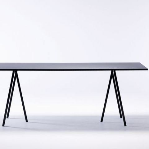 Kök köksbord hay : DESIGNDELICATESSEN - HAY - Loop Stand High table 160 cm - bord ...