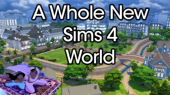 A Whole New Sims 4 World [Newcrest] | Rachybop