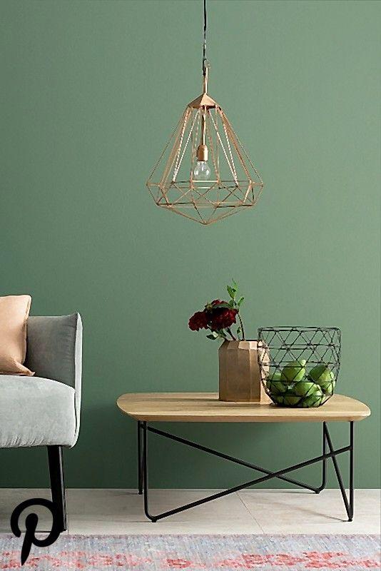 Ausgeglichenes Piniengrun Nr 28 Bild 28 In 2019 Schoner Wohnen Farbe Wandfarbe Wohnzimmer Wohnzimmer Gemutlich