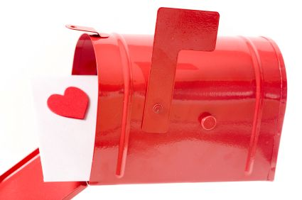 Children can create their own personalized Valentine's Day mailbox with this quick and easy craft