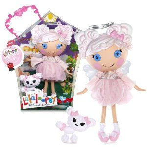 """MGA Entertainment Lalaloopsy """"Sew Magical! Sew Cute!"""" 12 Inch Tall Button Doll - Cloud E. Sky with Pet """"Poodle"""" Plus Bonus Poster Inside by MGA Entertainment. $49.99. Doll measured approximately 12 inch tall. For age 4 to 104. Include: Cloud E. Sky with Pet """"Poodle"""" Plus Bonus Poster Inside. Sewn on: Aug. 22nd Sewn from: The wisps of  a cloud Personality: Girly and  soft spoken Cloud E. Sky was once a rag doll who  magically came to life when her very last stitch was sewn..."""