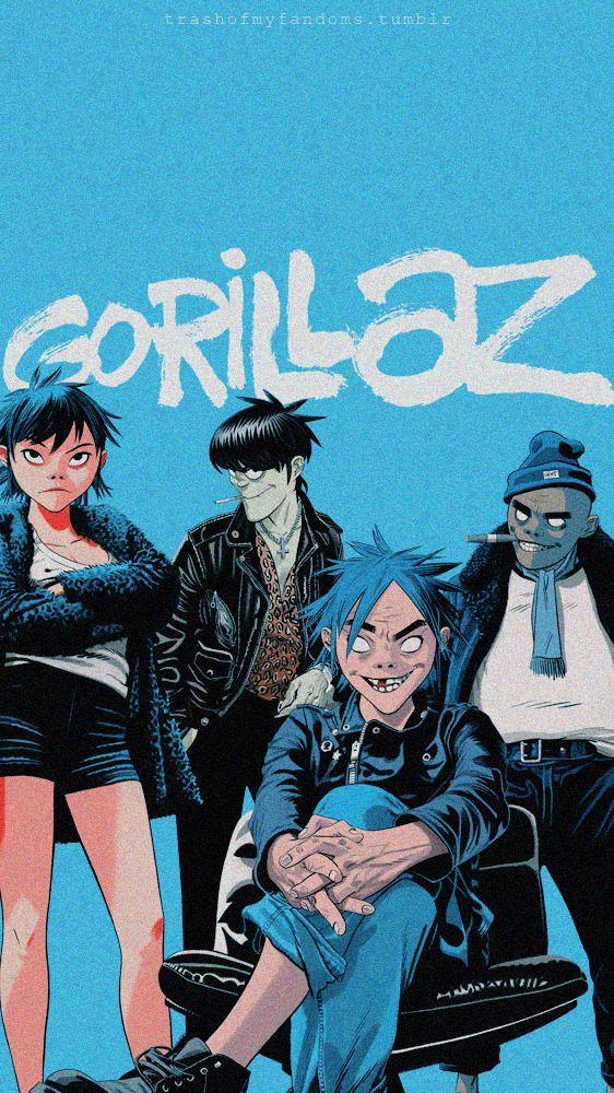 The Neighbourhood Wallpaper Tumblr Gorillaz Art Gorillaz Fan Art Gorillaz