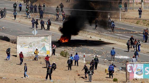 Bergarbeiter entführten Politiker: Boliviens Vize-Innenminister erschlagen