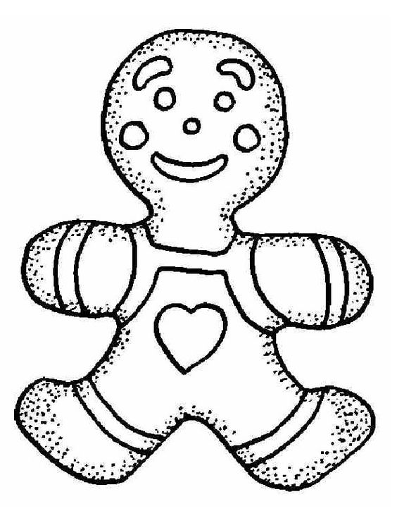 christmas_gingerbread_coloring_pages_for_free (12) | Christmas ...