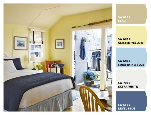 Yellow Cottage Interior Paint Colors And Cottage Interiors On Pinterest