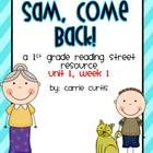 ... unit 1, week 1 of 1st grade Reading Street. High Frequency Word List
